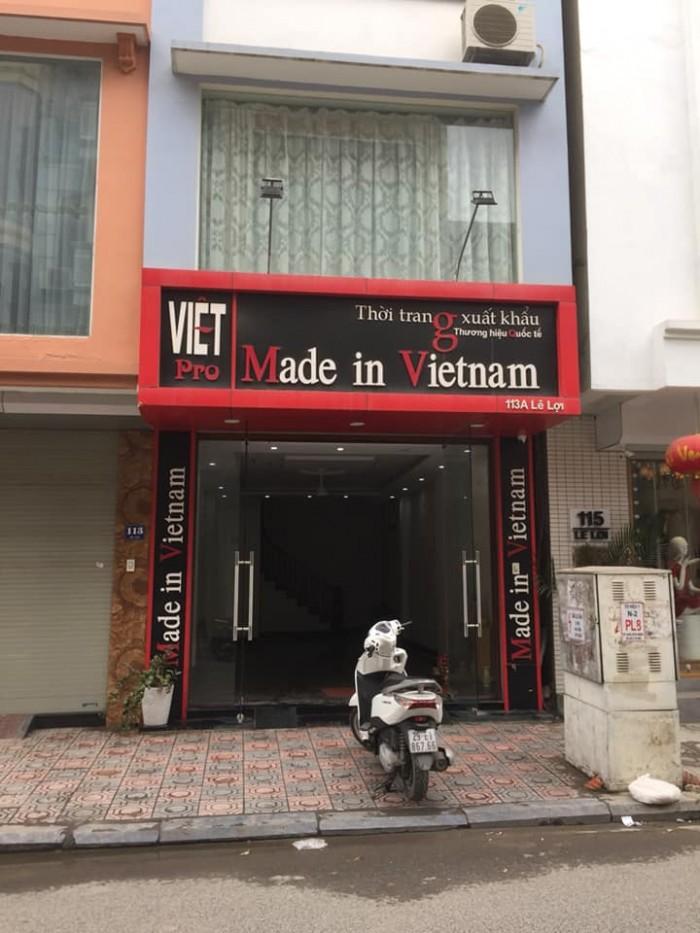 Bán gấp mặt phố Nguyễn An Ninh, HM: 95m2,  3 tầng, giá 14 tỷ. vị trí tốt, xây Khách San.
