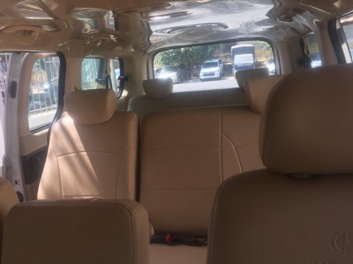 Bán xe Starex 9 chỗ nhập Hàn Quốc, màu bạc, máy dầu
