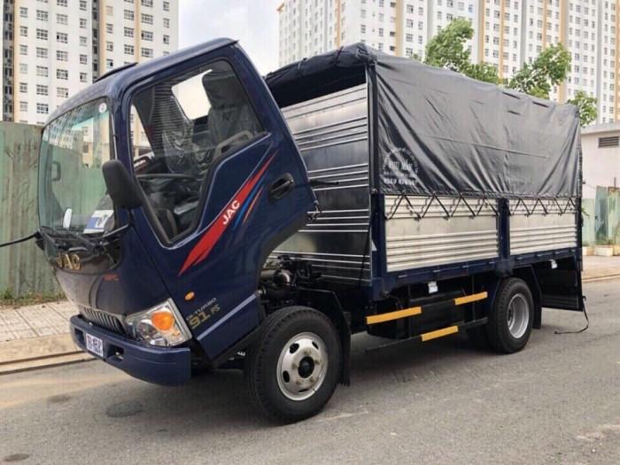 Xe tải JAC 2.4 tấn Euro 2 - ga cơ- tặng định vị - 2 chỉ vàng 999