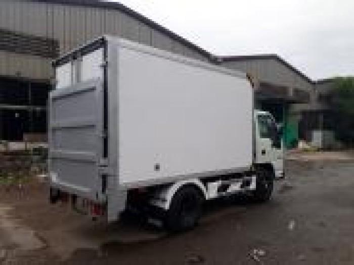 Xe tải isuzu thùng composite dài 3m6 bửng nâng 1t4-1t9-2t4