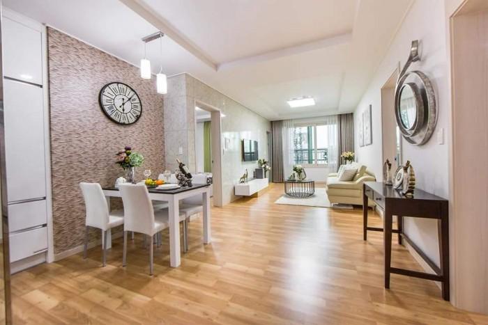 Bán căn hộ 95.54m2 chung cư Hàn quốc Booyoung, cửa vào Tây Bắc