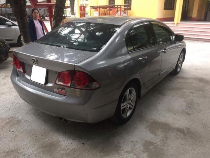 Cần bán xe Honda Civic 2.0AT 2008 màu xám bạc 5