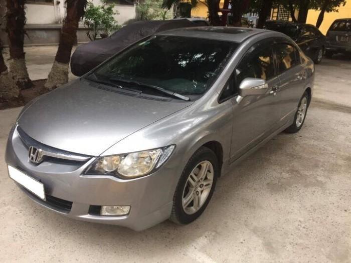 Cần bán xe Honda Civic 2.0AT 2008 màu xám bạc 3