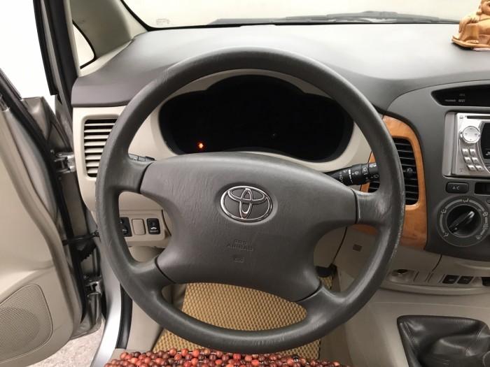Bán ô tô Toyota Innova G 2010, màu bạc, Xe Tuyển Thơm Mùi Nỉ 7