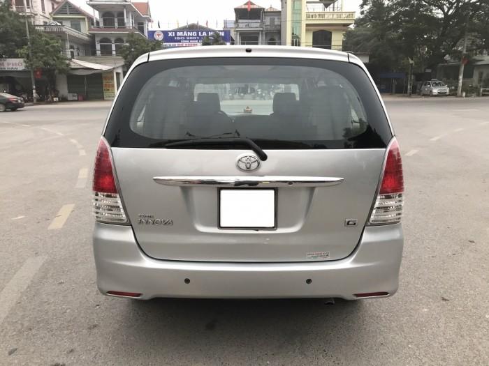 Bán ô tô Toyota Innova G 2010, màu bạc, Xe Tuyển Thơm Mùi Nỉ 4