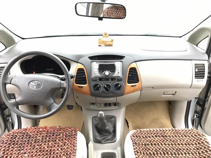 Bán ô tô Toyota Innova G 2010, màu bạc, Xe Tuyển Thơm Mùi Nỉ 12