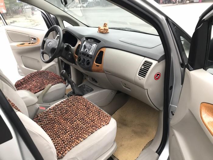 Bán ô tô Toyota Innova G 2010, màu bạc, Xe Tuyển Thơm Mùi Nỉ 13