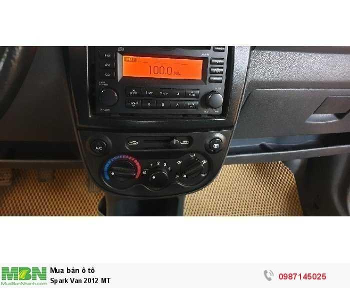 Spark Van 2012 MT 3