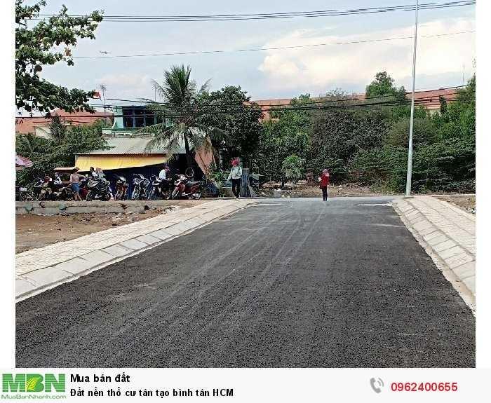 Đất Nền Thổ Cư Tân Tạo Bình Tân HCM
