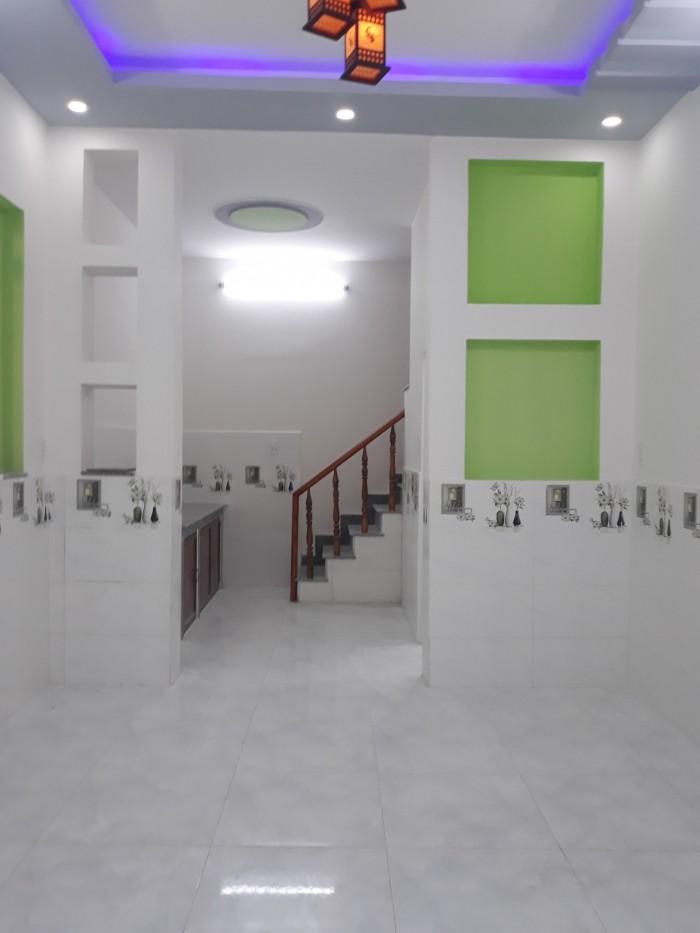 Nhà ngay chợ chữ S Trần Văn Mười 4x10m 1 lầu đường 5m