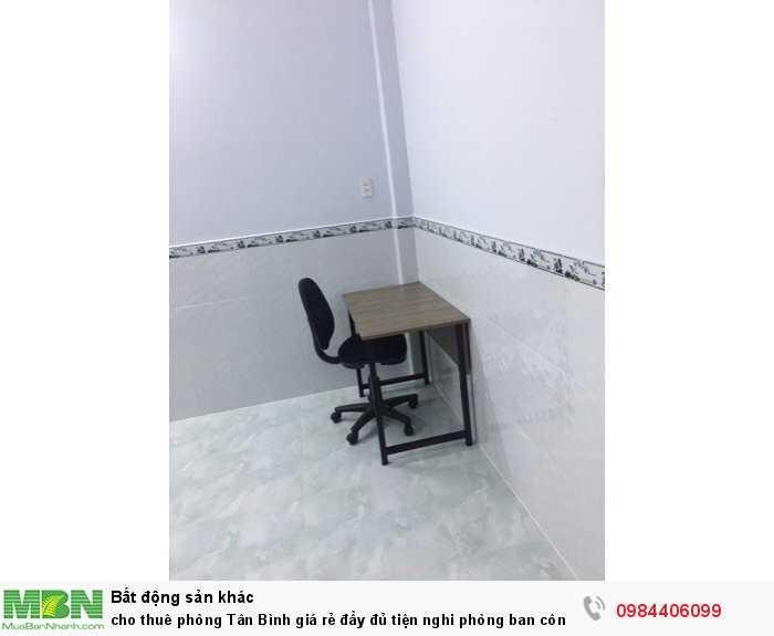 Cho thuê phòng Tân Bình giá rẻ đầy đủ tiện nghi phòng ban công thoáng mát