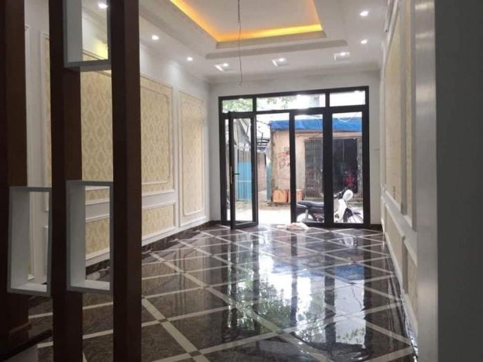 Bán nhà Mặt ngõ Tân Mai 45 m 5 tầng 4 Mặt tiền Hoàng Mai có gara ô tô vào nhà