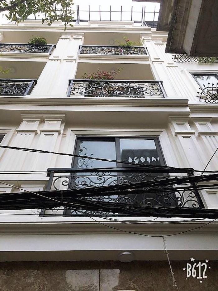 Bán nhà Đẹp phố Đội Cấn, ngõ thông tứ phía. Giá cực tốt DT45m2 x 5 tầng , MT 3,3m