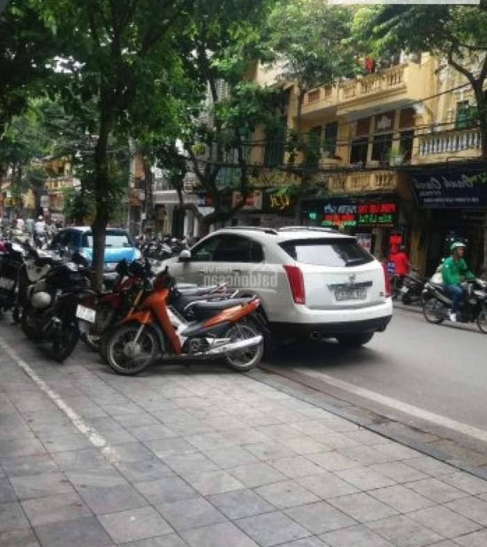 Mặt phố đầu Nguyễn Chí Thanh 50m, 5 Tầng vỉa hè, Kinh Doanh