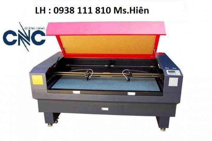 Máy laser 1610 – 2 đầu cắt vải nhanh giá rẻ0