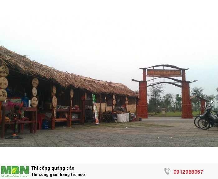 Thi công gian hàng hội chợ truyền thống