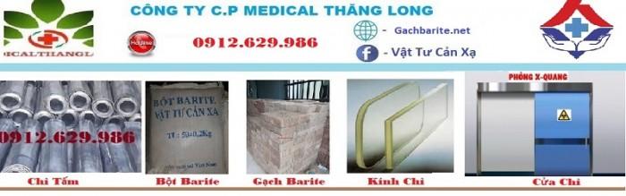 Vật tư xây dựng phòng cản xạ  XQuang - CTscaner0