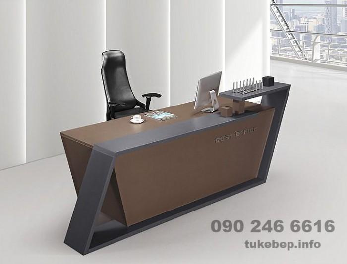 Quầy lễ tân thông dụng dành cho văn phòng giá rẻ29