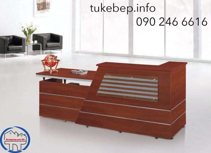 Quầy lễ tân thông dụng dành cho văn phòng giá rẻ21