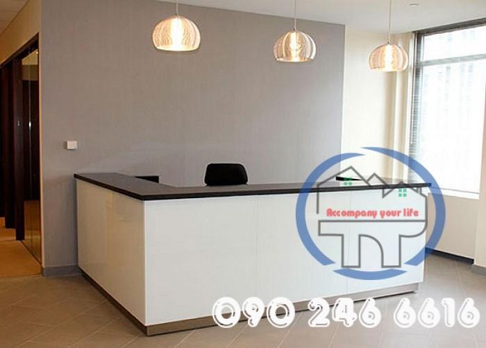 Quầy lễ tân thông dụng dành cho văn phòng giá rẻ17