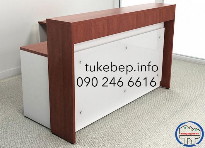 Quầy lễ tân thông dụng dành cho văn phòng giá rẻ9