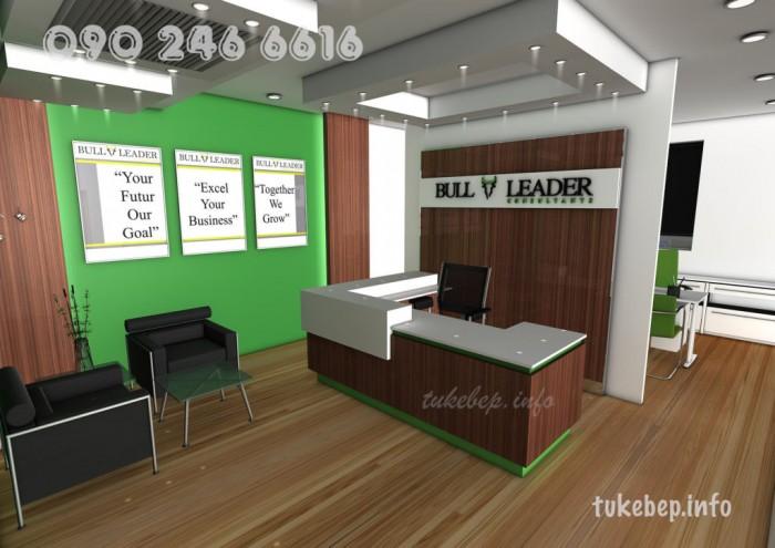 Quầy lễ tân thông dụng dành cho văn phòng giá rẻ13