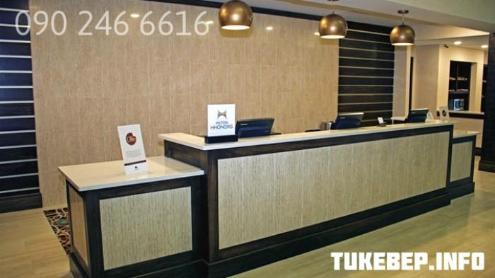 Quầy lễ tân thông dụng dành cho văn phòng giá rẻ31