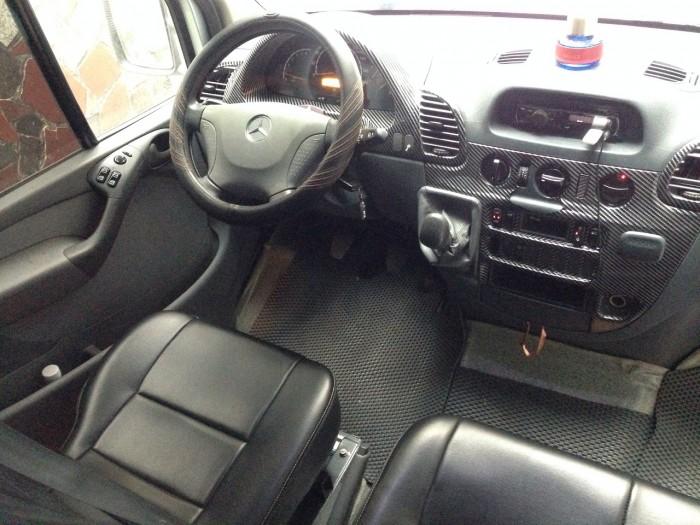 Gia đình cần bán xe Sprinter 2012, số sàn, máy dầu, màu bạc