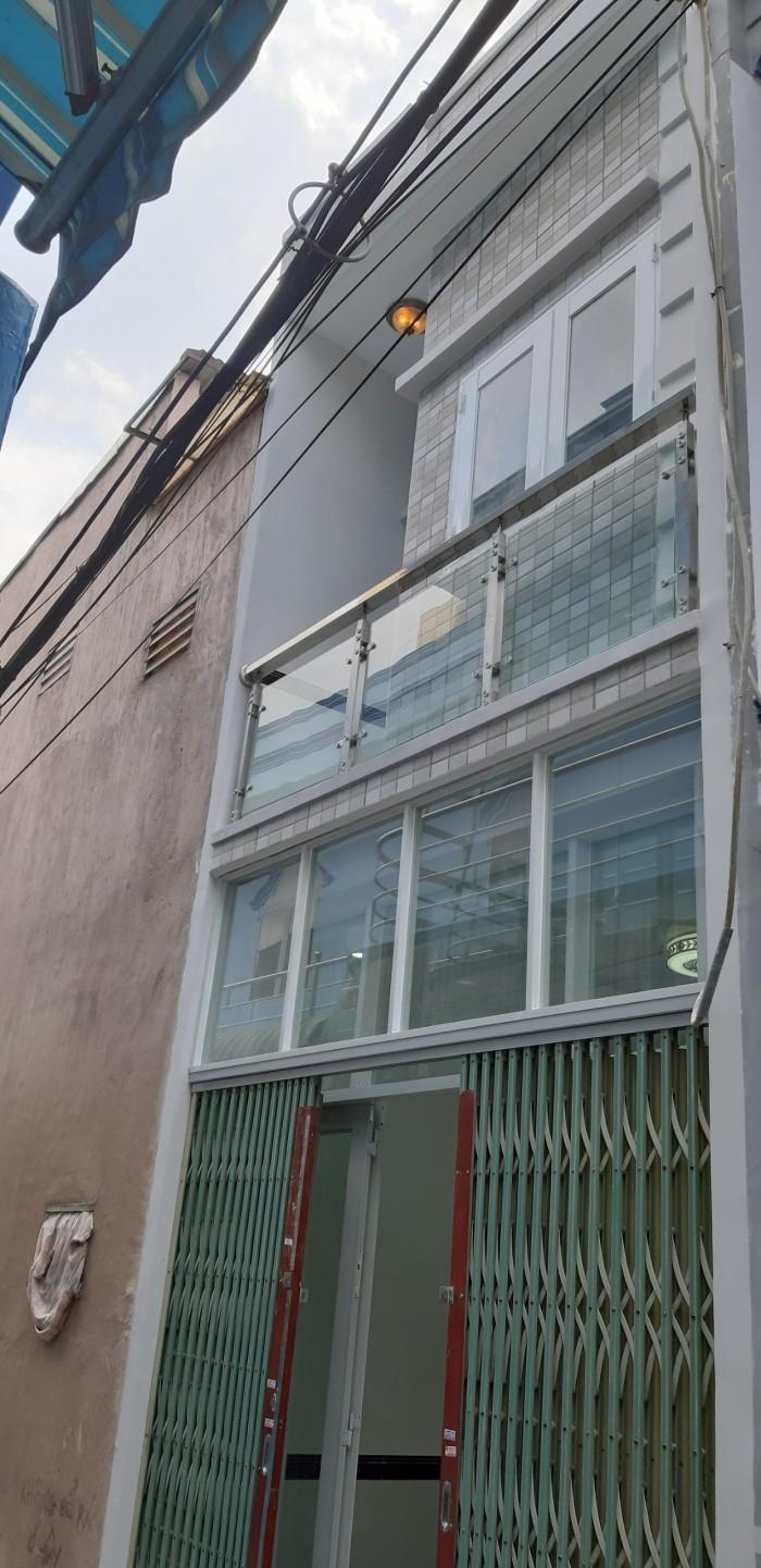 Chính chủ cần bán căn nhà P12 Quận Gò Vấp DTSD : 42 m2.. Nhà đúc 1 trệt 1 lầu