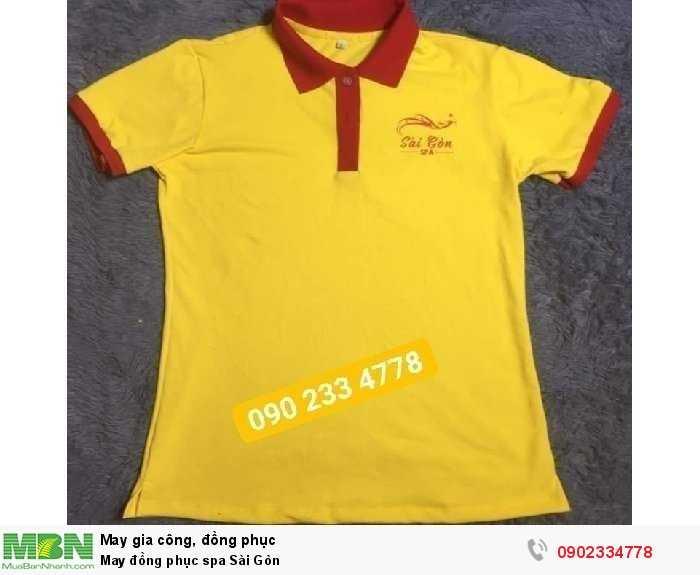 May đồng phục spa Sài Gòn
