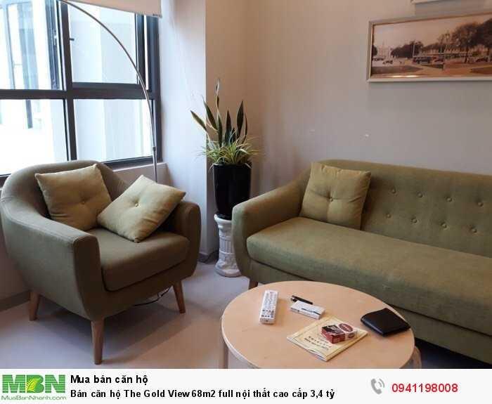 Bán căn hộ The Gold View 68m2 full nội thất cao cấp 3,4 tỷ