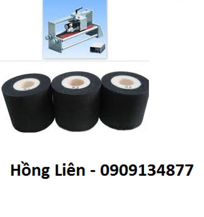 Mực nhiệt, mực  ruban cho máy in date, mực in date cho máy hàn miệng bao, máy in date thủ công DY8,HP241b0