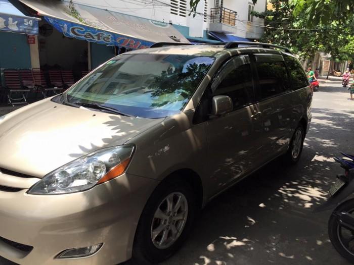 Gia đình cần bán xe Sienna 2008, số tự động, bản LE, hai cửa điện