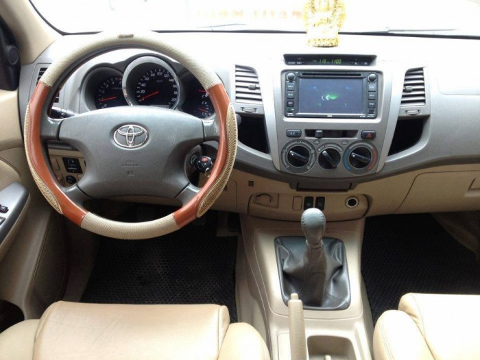 Bán Toyota Fortuner số sàn 2009 máy dầu xám chì zin như mới.