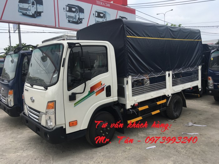 Xe tải Tera 250 thùng mui bạt nhập khẩu Hàn Quốc tải trọng 2,5 tấn 13