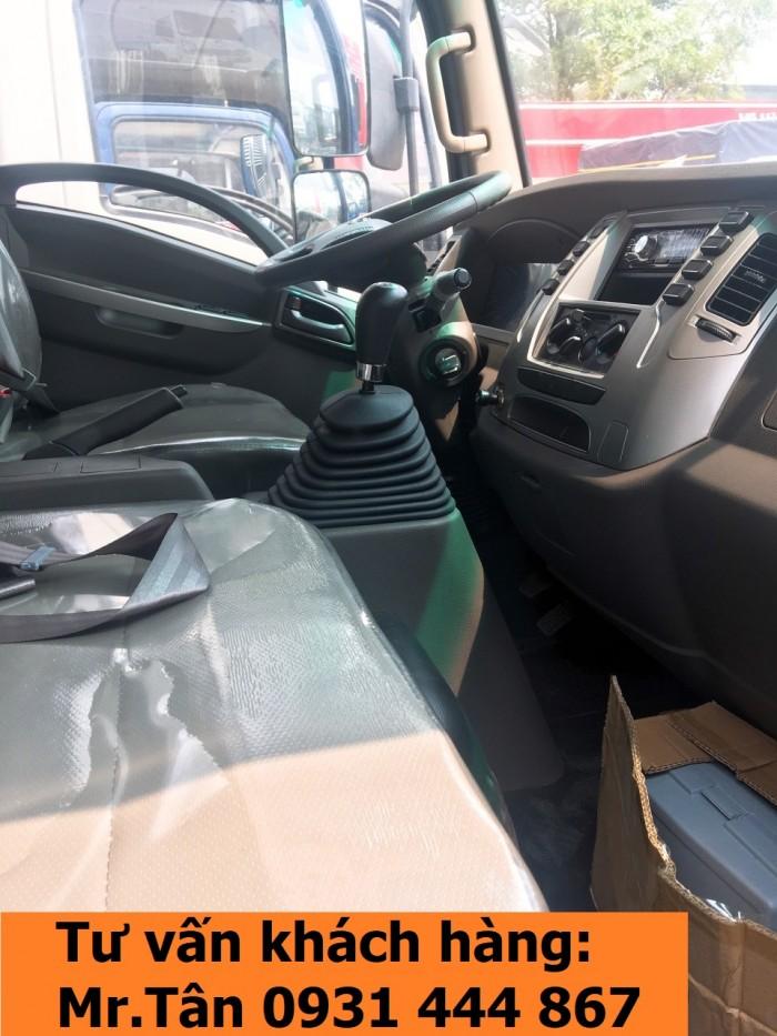 Xe tải Tera 250 thùng mui bạt nhập khẩu Hàn Quốc tải trọng 2,5 tấn 9