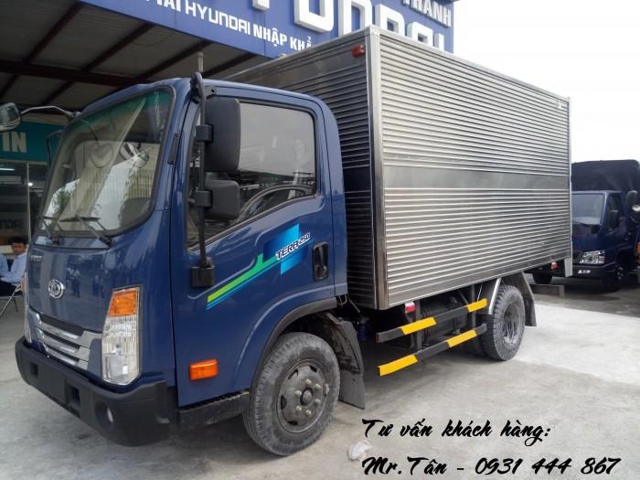 Xe tải Tera 250 thùng mui bạt nhập khẩu Hàn Quốc tải trọng 2,5 tấn 6