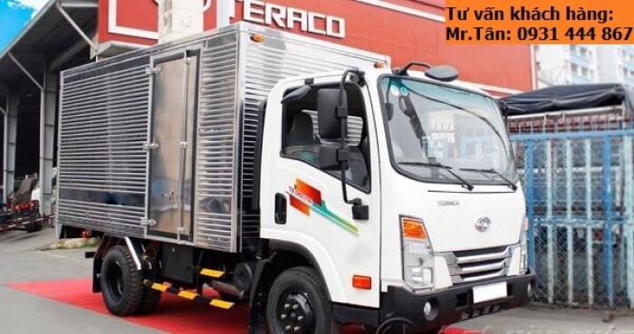 Xe tải Tera 250 thùng mui bạt nhập khẩu Hàn Quốc tải trọng 2,5 tấn 5