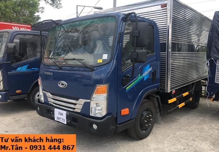 Xe tải Tera 250 thùng mui bạt nhập khẩu Hàn Quốc tải trọng 2,5 tấn 4