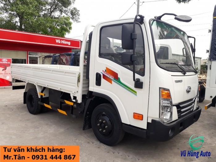 Xe tải Tera 250 thùng mui bạt nhập khẩu Hàn Quốc tải trọng 2,5 tấn 3