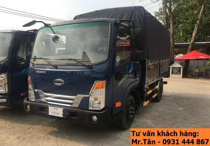 Xe tải Tera 250 thùng mui bạt nhập khẩu Hàn Quốc tải trọng 2,5 tấn 2