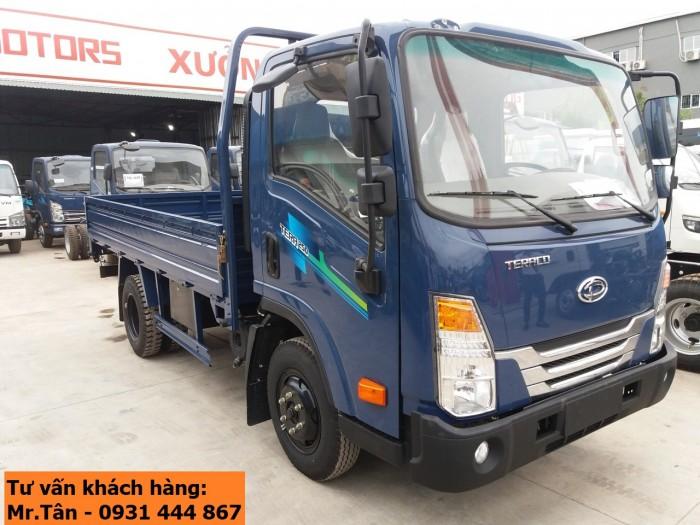 Xe tải Tera 250 thùng mui bạt nhập khẩu Hàn Quốc tải trọng 2,5 tấn 1