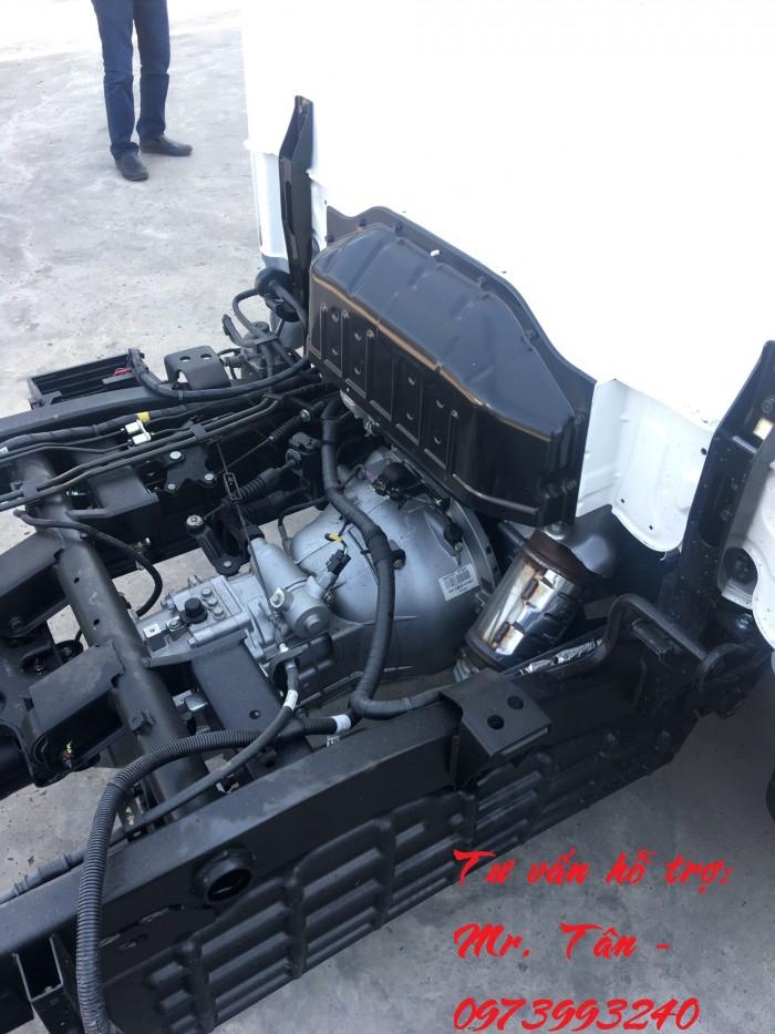 Xe tải Porter H150 thùng mui bạt tải trọng 1,49 tấn