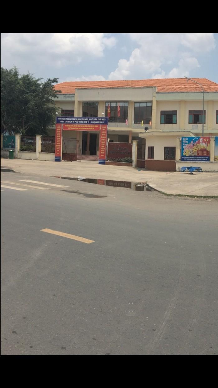 Bán lô đất Xã An Phú, Huyện Củ Chi, Sổ Hồng Riêng, 650tr