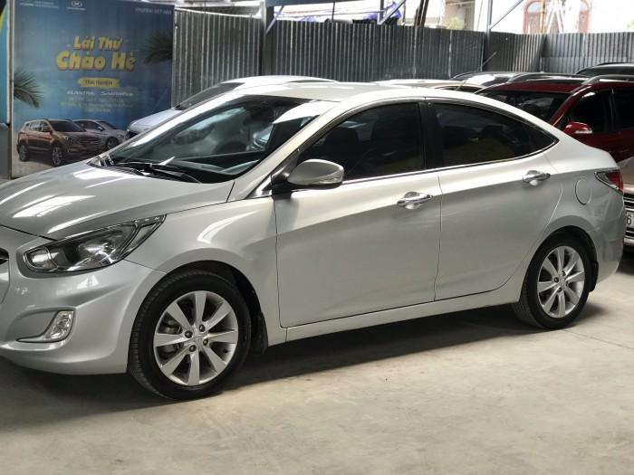 Bán Hyundai Accent 1.4AT màu bạc số tự động nhập Hàn Quốc 2012 biển Đồng Nai đi 41000km