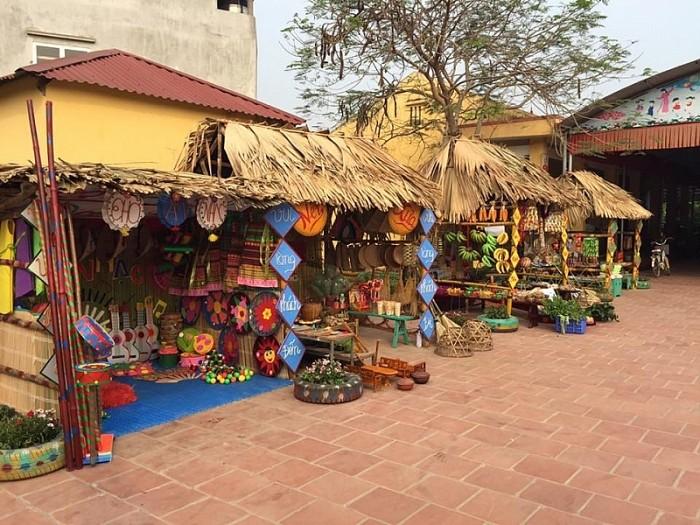 Sản xuất gian hàng chợ quê, lễ hội ẩm thực
