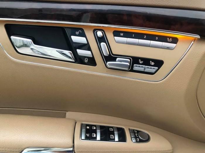 Cần tiền bán gấp S400, sx 2010 hybrid, nhập Đức, tự động, máy xăng, màu trắng ngọc trinh 5