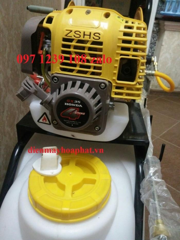 Máy phun thuốc đẩy tay Honda GX35, dây phun 40 mét, áp lực phun lớn, giá thành rẻ1