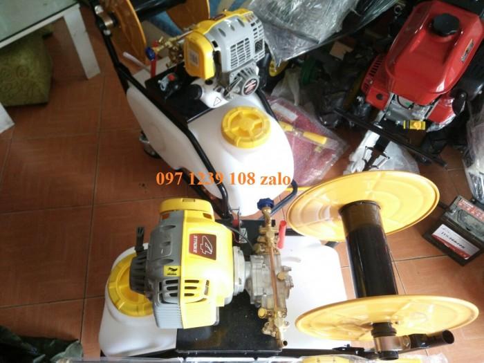 Máy phun thuốc đẩy tay Honda GX35, dây phun 40 mét, áp lực phun lớn, giá thành rẻ2