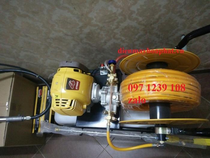 Máy phun thuốc đẩy tay Honda GX35, dây phun 40 mét, áp lực phun lớn, giá thành rẻ3